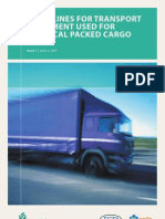 Guidelines for Transport Equipment Used for ChemicalPackedCargo(Issue 1 - Mar-07)