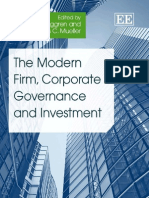 The Modern Firm, Corporate Governance and Investment (2009)