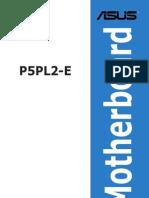 Manual P5PL2-E