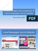 Research on Newspaper PP Completed