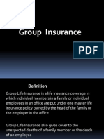 Ppt on Group Insurance