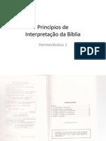 Walter A. Henrichsen - Princípios de Interpretação Bíblica