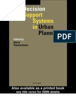Decision Support Systems in Urban Planing