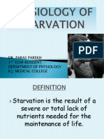 Physiology of Starvation