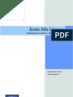Dosier Acido Alfa Lipoico