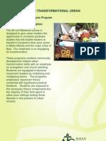 ATS Master of Arts in Transformational Urban Leadership (M.A. TUL)