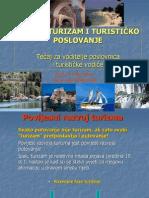 Uvod u turizam i turističko poslovanje