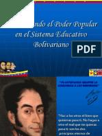 do El Poder Popular en El Sistema Educativo Bolivariano