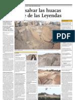 Plan Para Salvar Huacas Del Parque de Las Leyendas