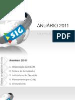 20110331-Apresentação Anuário 2011