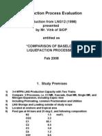 Liquefaction Process Evaluation