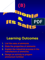 9B_ammonia and Its Salts