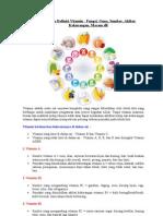 Pengertian Dan Definisi Vitamin