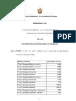Ord.11901 Ordenanza Impositiva 2011