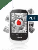 Vodafone 858 Smart Mobile Phone User Guide Italy