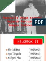 Pancasila Dalam Konteks Sejarah Perjuangan Bangsa Indonesia