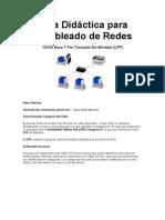 Guía Didáctica para Cableado de Redes
