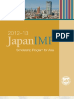 Japan-IMF Scholarship 4 Asian Students