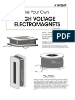 Make Your Own High Voltage Electromagnets
