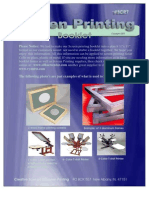 Screen Printing Booklet