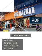 CRM -Future Group Big Bazaar