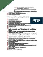 Anestesicos Locales y Anestesia Regional