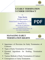Presentation Managing Early Termination_TEJAS KARIA