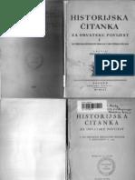 Jaroslav Sidak Historijska Citanka Za Hrvatsku Povijest