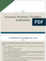 Licencias, Permisos y Trámites Ambientales