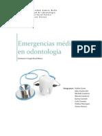 Emergencias médicas en la odontología