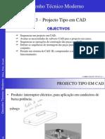 13-Projecto Tipo Em CAD