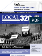 Teamster 320 Newsletter Spring 2011
