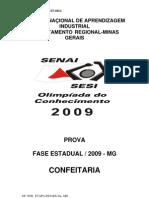Prova 32 Confeitaria OC 2009 Estadual