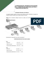 Manual para la operación del sistema
