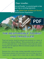Responsible Tourist Brochure