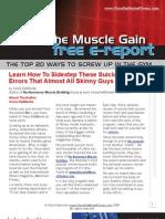 Vince Delmonte Bodybuilding Guide PDF