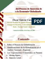 Inserción de Panamá a La Economía Globalizada (Mayo '05)