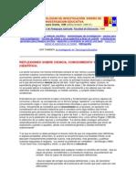 CIENCIA Y METODOLOGÍAS DE INVESTIGACIÓN