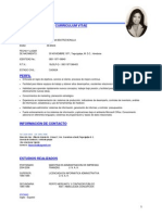 CV Ileana Bonilla 2010