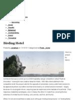 Birding Hotel | Animal Architecture