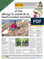América del Sur alberga la mitad de la biodiversidad mundial