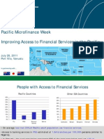 Improving Access to Financial Services in the Pacific (IFC, July 2011)