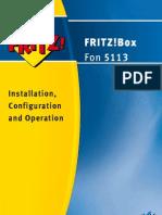 FritzBox Fon 5113-En