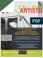 Call for Artwork Flyer