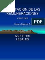 Tributacion de Las Remuneraciones Icare 2006