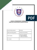 Lab Sheet Teknologi Elektrik No 1-Rev1