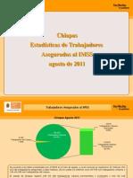 Estadísticas IMSS Agosto 2011
