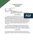 Managerial Communication Syllabus