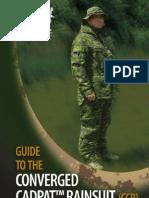 Canadian Forces Converged Rainsuit Guide