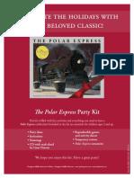 Polar Express Party Kit
